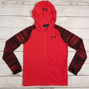 UNDER ARMOUR BOYS / YOUTH LARGE HOODED TOP